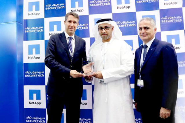 Best E-Series Partner for UAE 2015 from NetApp