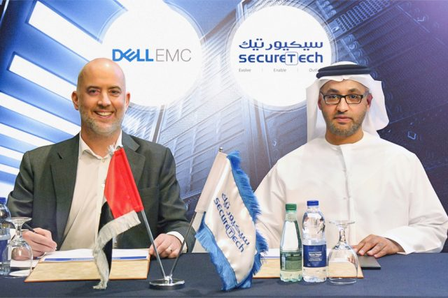 OEM Partnership between SecureTech and Dell EMC