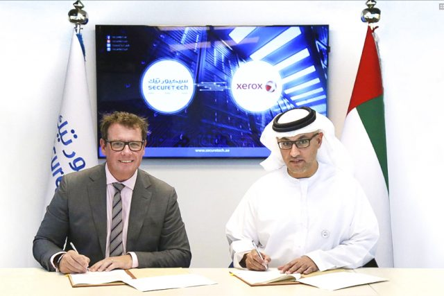 Authorized Reseller Certified Partner of Xerox Emirates for 2018