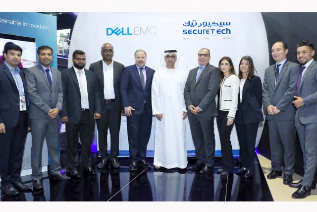 Dell EMC & SecureTech celebrate 10 years of successful partnership during GITEX Technology Week 2018
