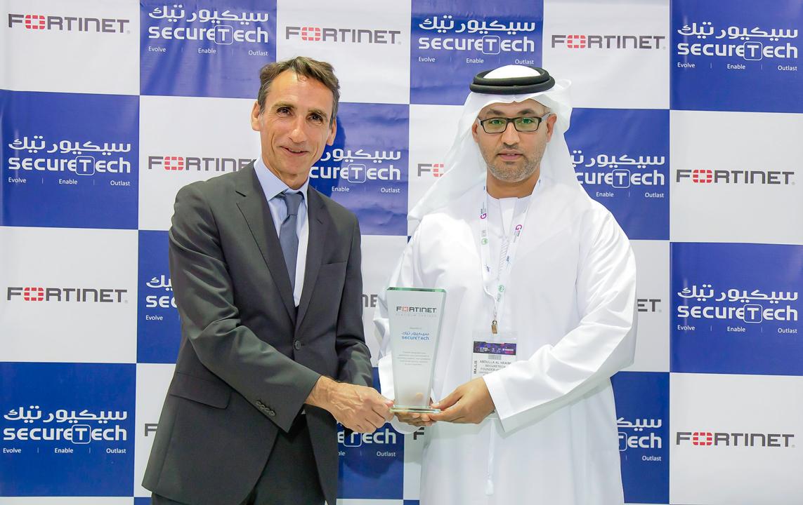 61.Platinum Partner award from Fortinet _