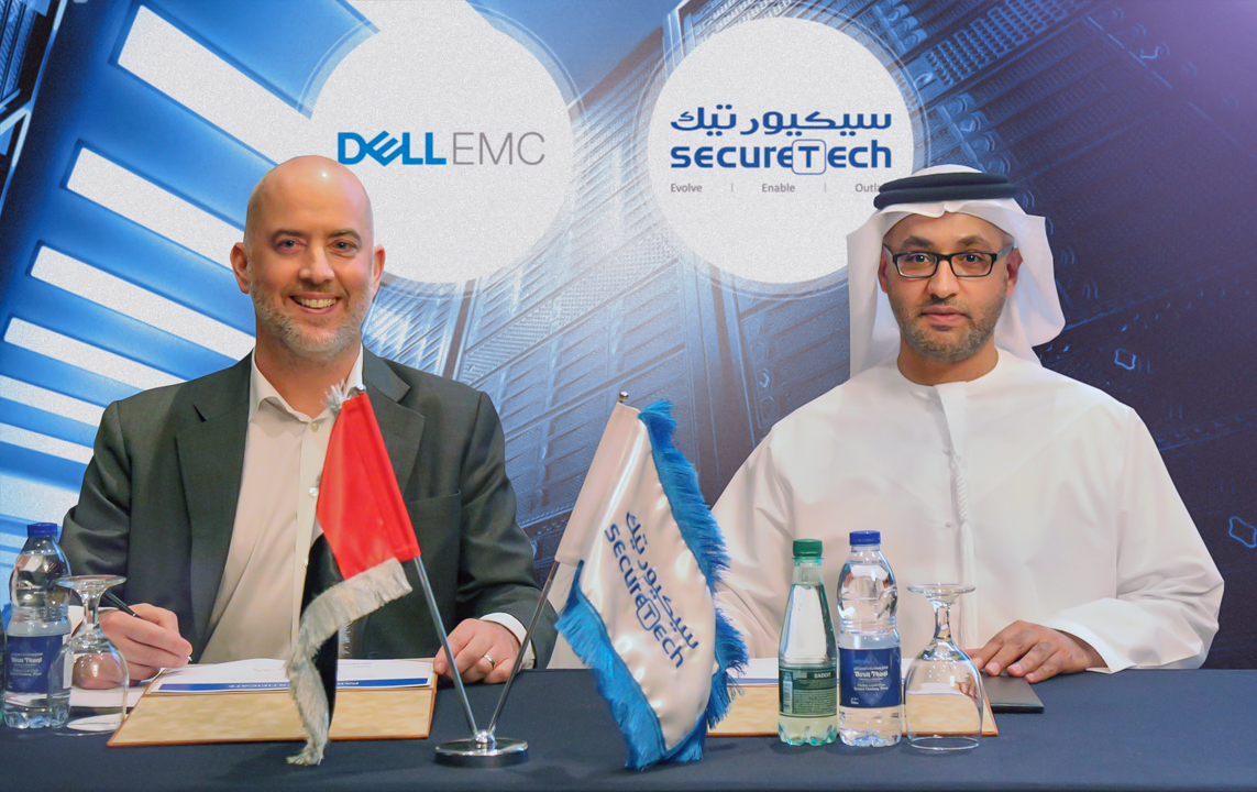 66.OEM Partnership between SecureTech and Dell EMC _