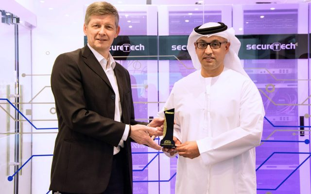 Partner of the Year for Outstanding Performance in 2018 from PANDUIT