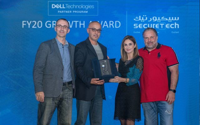 FY20 Growth Award from Dell Technologies-Egypt